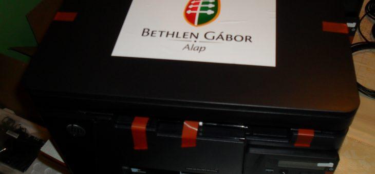 Új nyomtatókat vásároltunk a BGA zrt-nek köszönhetően