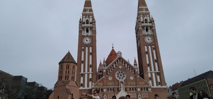 Vajdasági cserkészek Szegeden